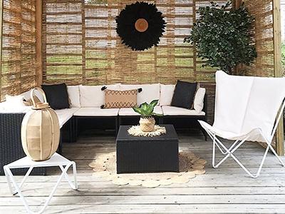 Comment décorer et aménager sa terrasse couverte ?